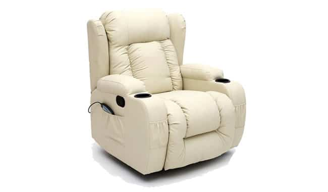More4Homes 10 in 1 Winged Rocking Heated Massage Chair