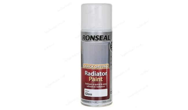 Ronseal Quick Drying Radiator Spray Paint