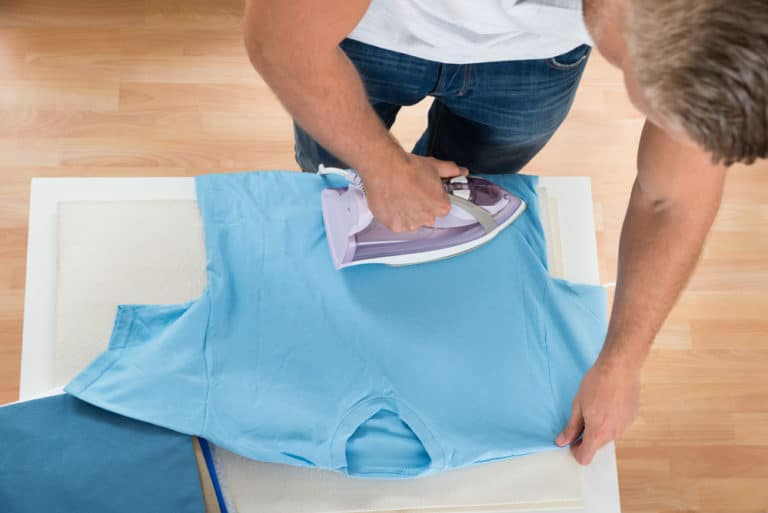 How to Iron a Shirt Without an Ironing Board