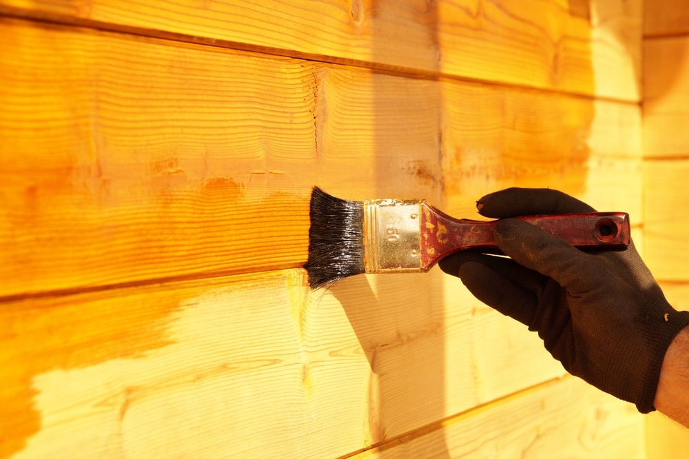 how to apply wood preserver