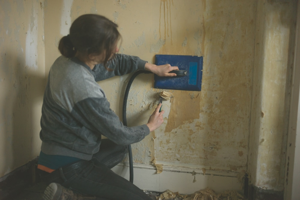 how to descale a wallpaper stripper