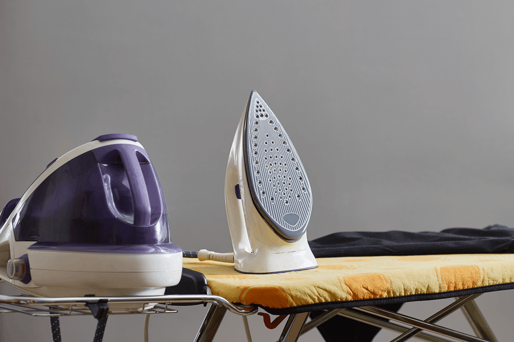 how to clean a steam generator iron