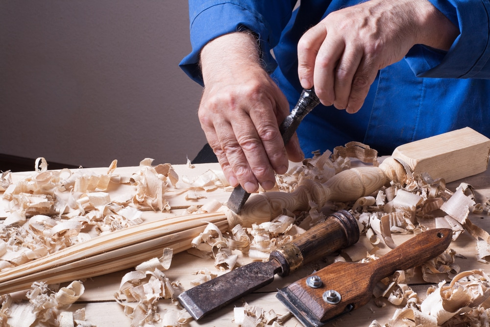 how to sharpen a wood chisel