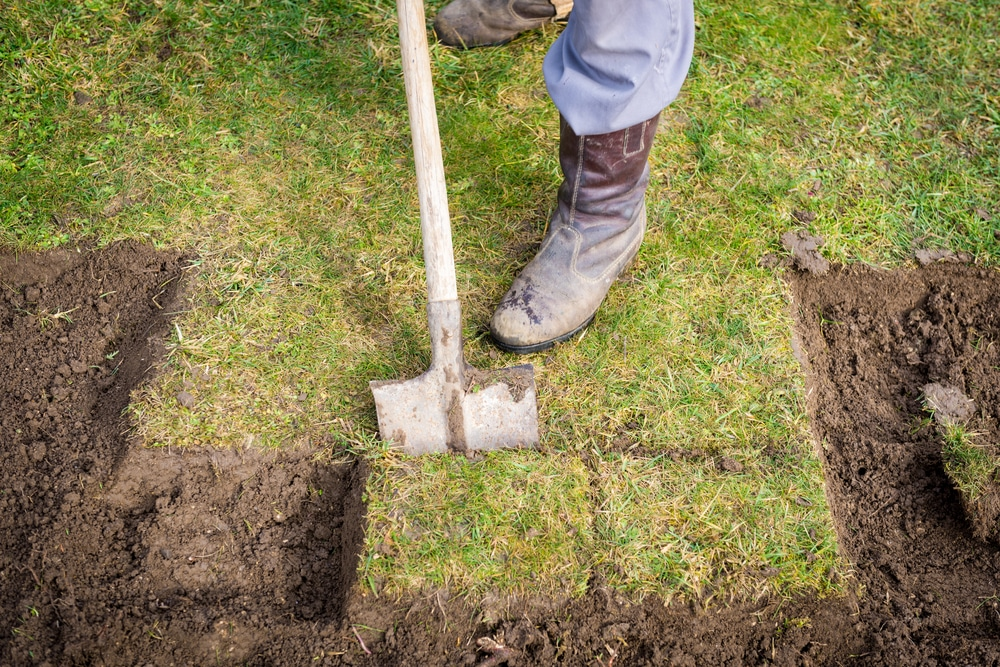 what is a garden spade used for